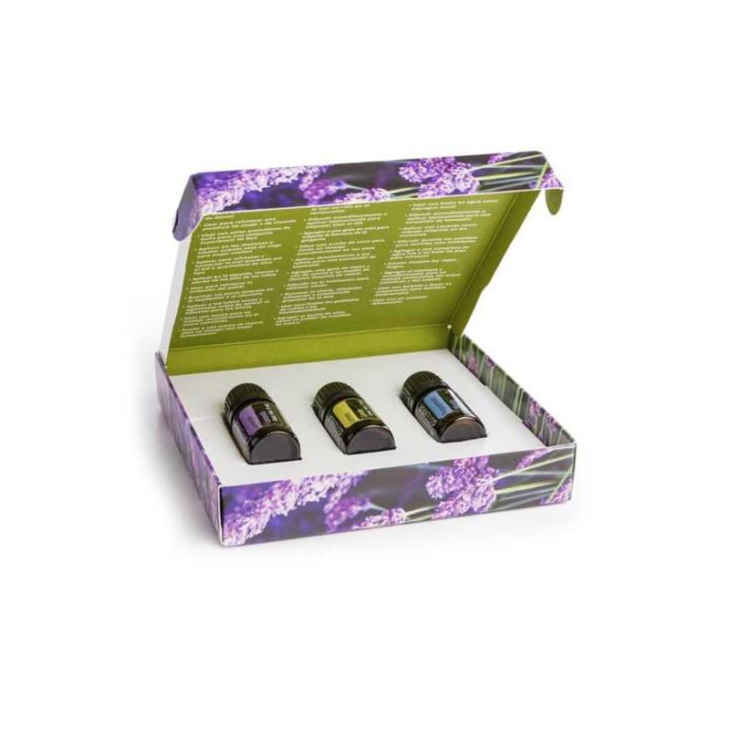 Bemutató csomag angol nyelvű (5ml citrom,levendula és borsmenta)