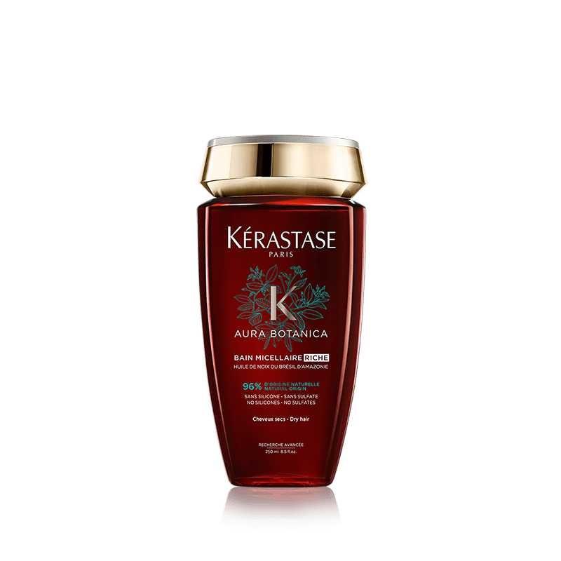 Kérastase Aura Botanica Bain Micellaire Riche hajfürdő gazdagabb táplálás fénytelen haj ragyogásáért sampon 250ml
