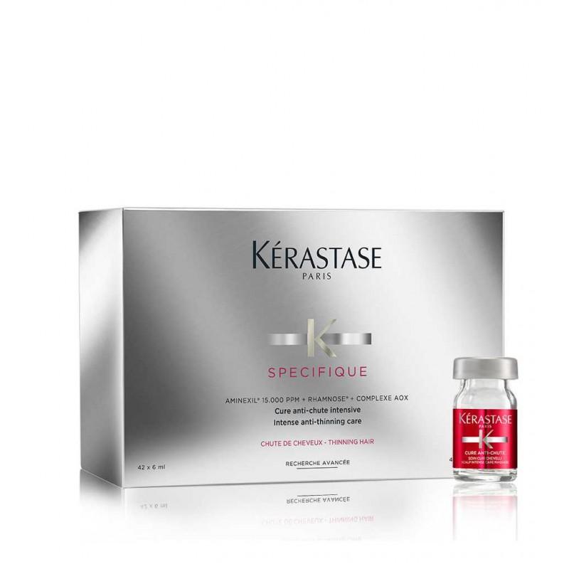Kérastase Aminexil Force hajhullás elleni szérum kúra 10x6ml