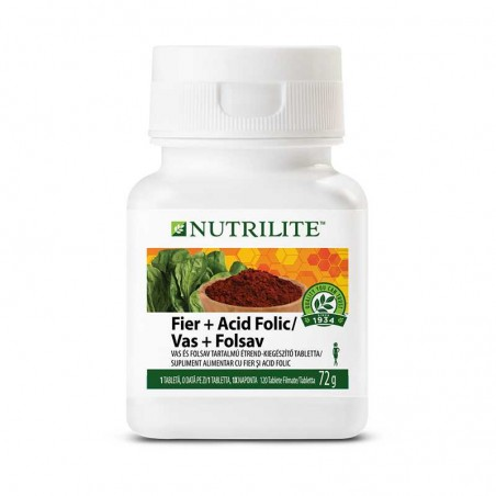 Amway Vas + Folsav NUTRILITE™ 120 tabletta