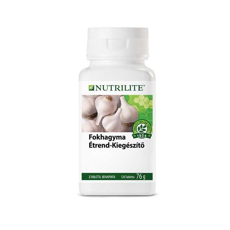 Amway Fokhagyma étrend-kiegészítő NUTRILITE™ 120 tabletta