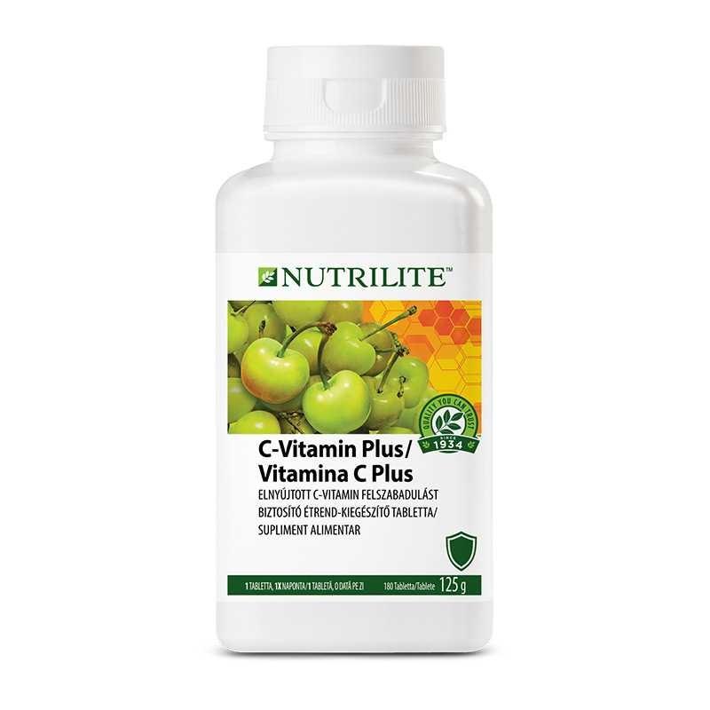 Amway C-vitamin Plus Családi csomagolás NUTRILITE™ 180 tabletta