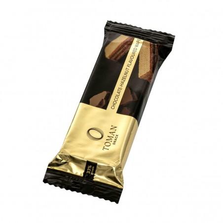 Csokoládé és mogyoró ízű töltelékkel (75%) töltött nápolyi 42g